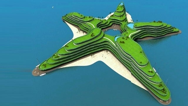 "Artificial ""floating"" islands could replace the sinking Maldives"