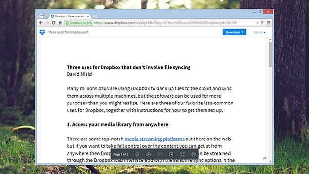 Three Uses for Dropbox That Don't Involve File Syncing