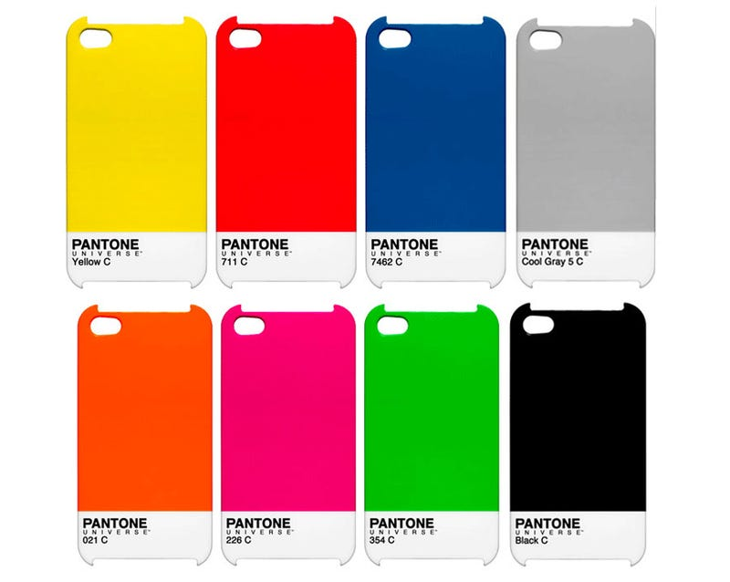 Slip Your iPhone or iPad Into an Official Pantone Case