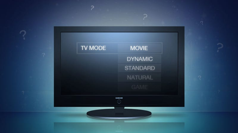 What Do All These Different Modes On My TV Mean?