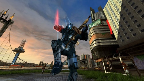 Gliding Through Crackdown 2's Latest Build