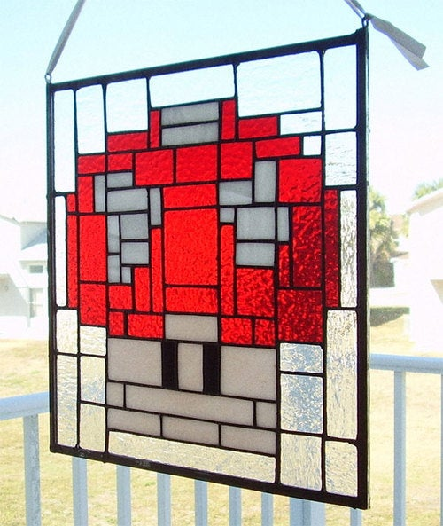 Build A Mario Church For This Window