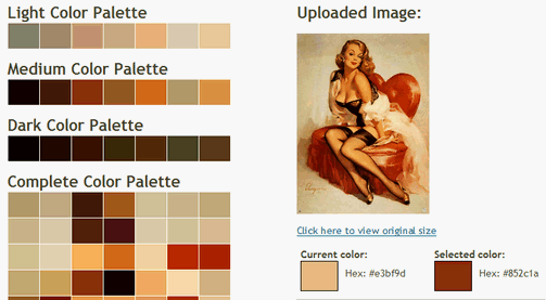 Create a Color Palette from a Single Image