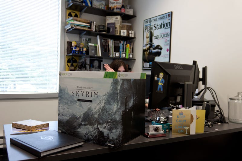 The Skyrim Collector's Edition is Friggin' Huge
