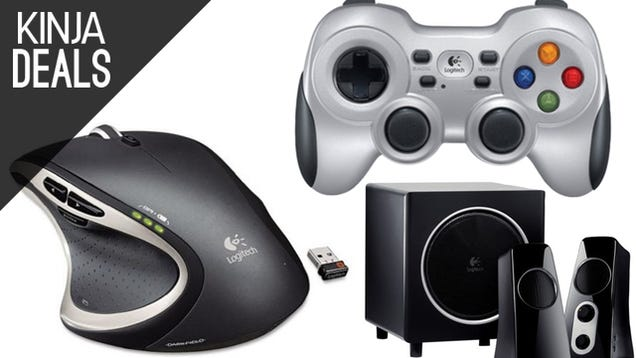 Your Favorite Logitech Gear, Discounted