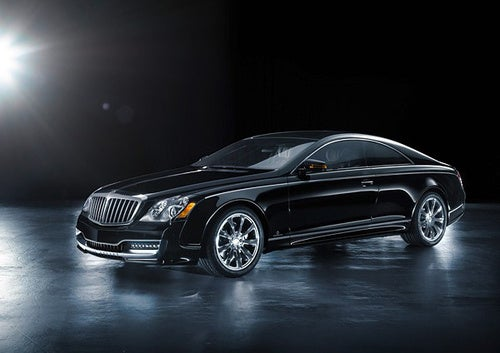 A Maybach Coupe Like A Yacht, Only Longer