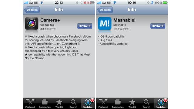 Apple's Been Approving iOS 5 Apps On the Sly Already