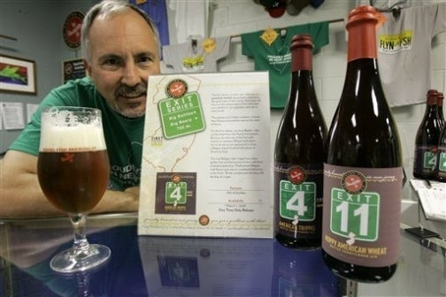 NJ Brewer Creating Turnpike Exit-Inspired Beers