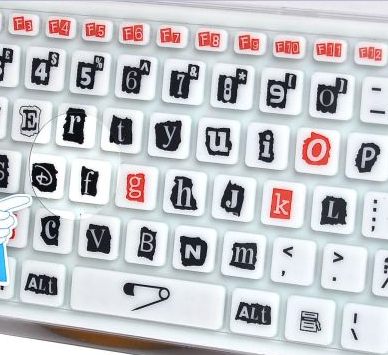The Letters R, A, N, S, O and M are Going To Be Worn Out On This Keyboard