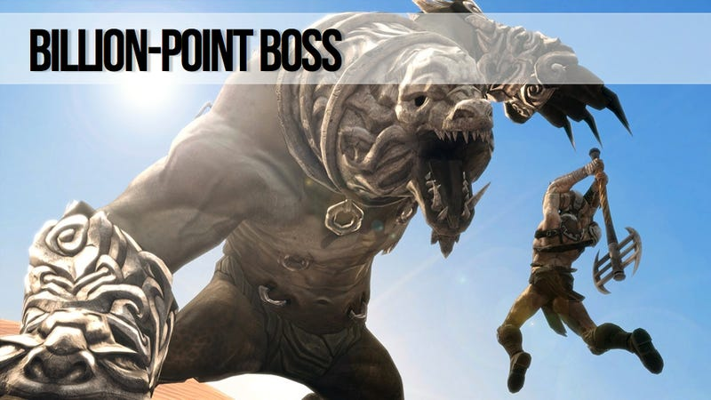 It Takes A Global Effort To Drain New Infinity Blade II Boss' Billion Health Points