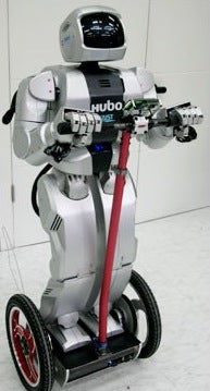 "HUBO, the First Robot to ""Ride"" a Segway"