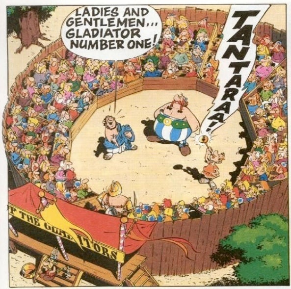 Asterix: The Great Unsung Fantasy Hero
