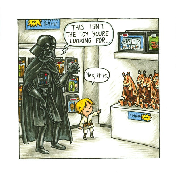 Darth Vader is the coolest dad ever, in a new book