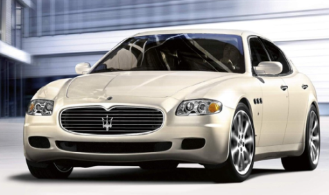 Four Square: Maserati to Offer Quattroporte in Automatic