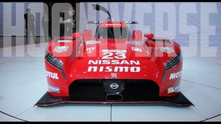 Nissan GT-R LM Nismo at the 2015 Chicago Auto Show