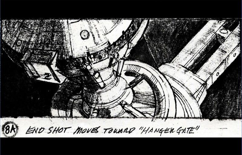 Original Star Trek II: Wrath Of Khan VFX Storyboards Are A Visual Feast