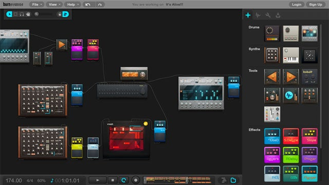 Burn Studios Audiotool Lets You Mix and Make Music in the Cloud