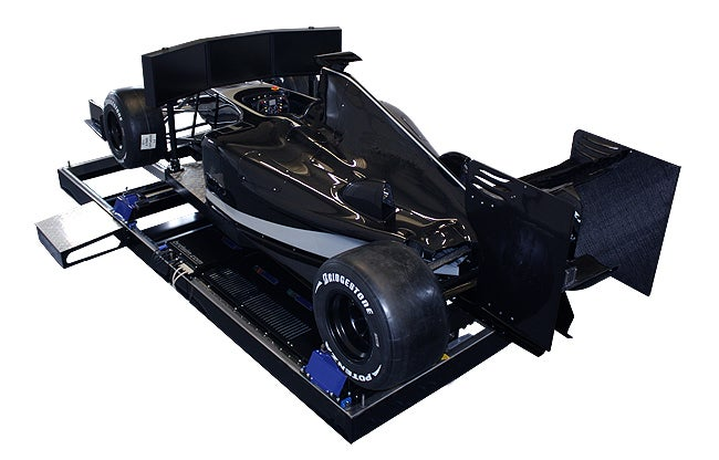 This Full Scale F1 Simulator Is Insane