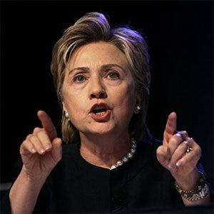 Memo To Hillary Clinton: You're A Presidential Hopeful, Not An American Hero