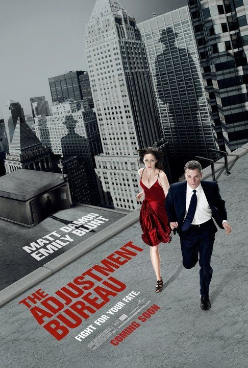 First posters for The Adjustment Bureau showcase Philip K. Dick's creepy monochrome world