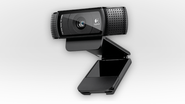 Most Popular Webcam: Logitech HD Pro Webcam C920