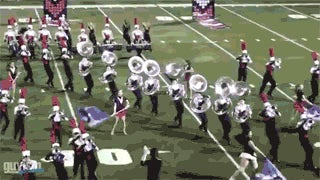 High School Marching Band Suffers Seven Sousaphone Pile-Up
