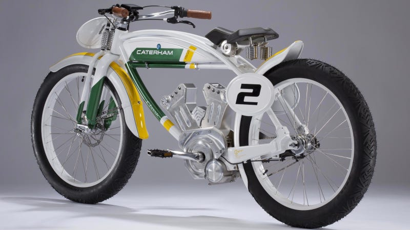 Caterham Says This Is The 'SUV Of Motorcycles'