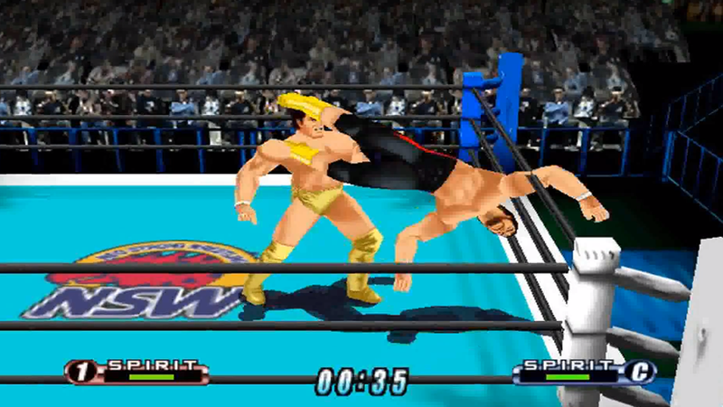 The Evolution Of Crazy Japanese Professional Wrestling Video Games