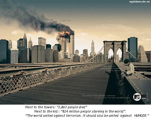 Is It Too Soon To Use The Burning Twin Towers In Ads?