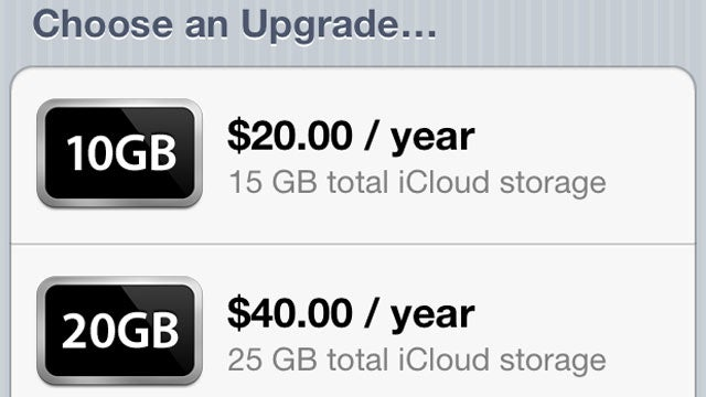 Apple Announces Pricing for Its Upcoming iCloud Service