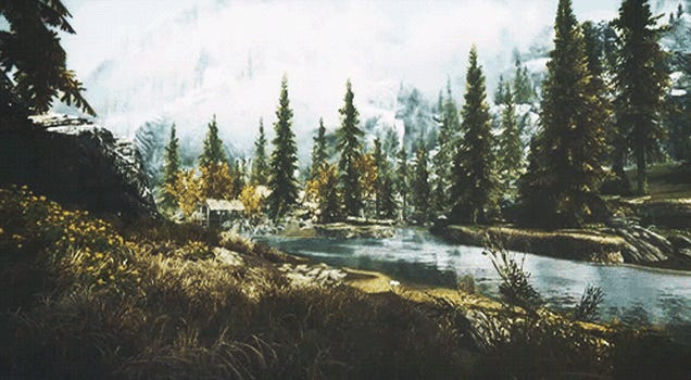 ​The Beauty Of Skyrim, In Motion