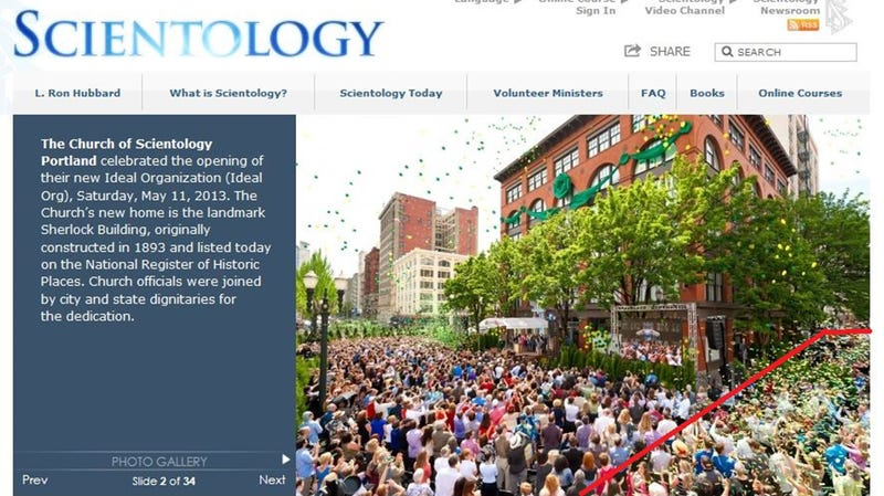 Scientology Is as Bad at Photoshop as It Is at Not Brainwashing People