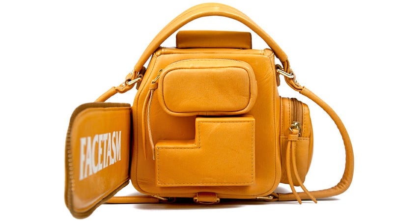 This Leather Chainsaw Bag Cuts Down Fashion Critics