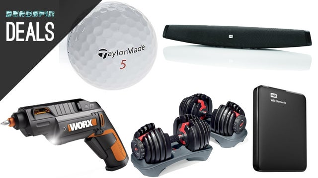 Deals: Power Screwdriver, Wiper Blades, Fitbit, Bowflex Dumbbells