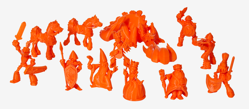You Can 3D Print This Magnificently Medieval Chess Set at Home