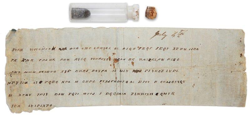 CIA Codebreaker Decodes Civil War Message 147 Years Too late