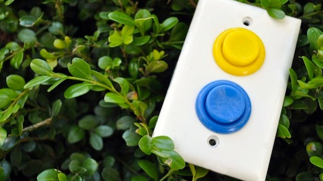 Why Wouldn't You Want Arcade Buttons on Your Light Switch?