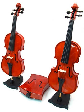 Sounger Vin 1/8 MP3 Violin Speaker System is Fiddle-Shaped, for Style