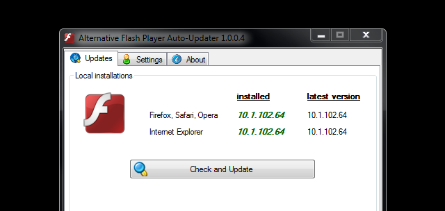 Alternative Flash Auto-Updater Updates Flash in the Background, No Adobe Download Manager Required