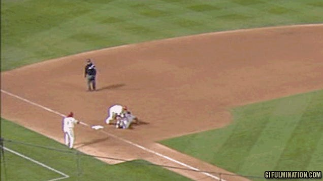 Cardinals Win Game Three On Walkoff... Obstruction?