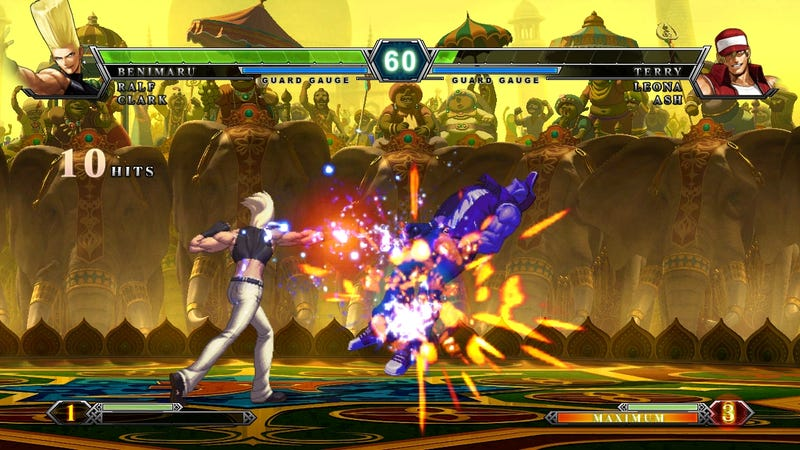The First King of Fighters XIII Screen Shots Bust Out