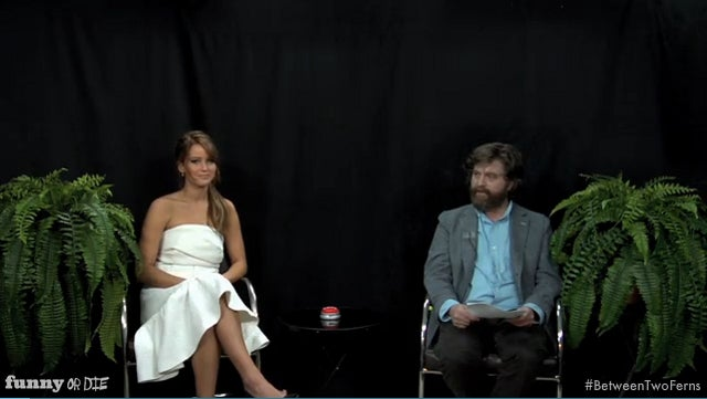 Zach Galifianakis Brings Back Between Two Ferns for a Special Extra-Awkward 'Oscar Buzz Edition'