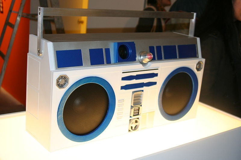 Pump Up The Dial: Photographic Daps for the Iconic 80s Boombox