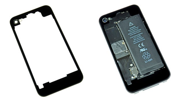 Transparent iPhone 4 Rear Panel Shows the Beauty/Battery Within