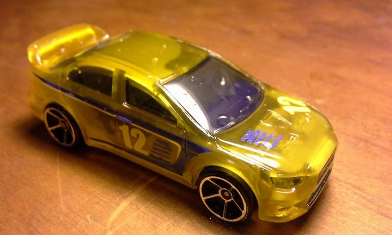 [REVIEW] Hot Wheels Color Changer EVO X