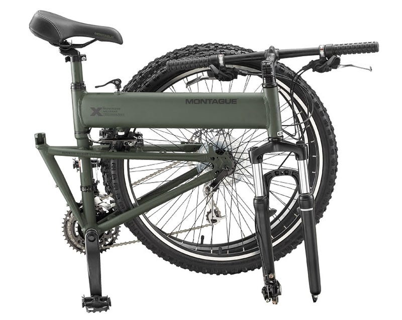 Montague Paratrooper Tactical Folding Bike Can Survive 1000-Foot Jumps