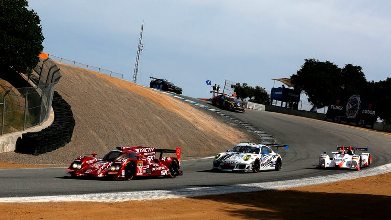 Here's How To Take The Best Pictures Today At Mazda Raceway Laguna Seca