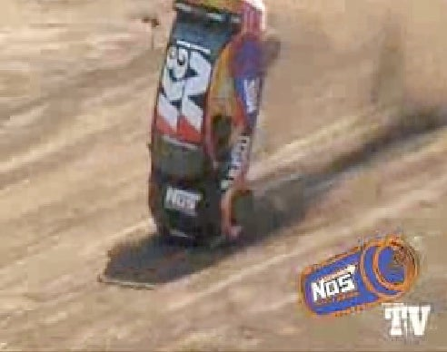 Mitsubishi Evo Flips At X-Games Rally