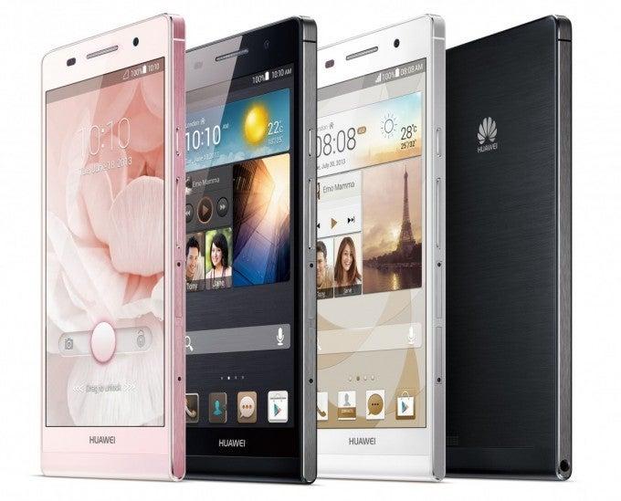 Huawei planta batalla con el Ascend P6, el móvil más fino del mundo