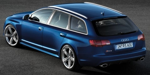 Audi RS6 Avant: Official for Frankfurt
